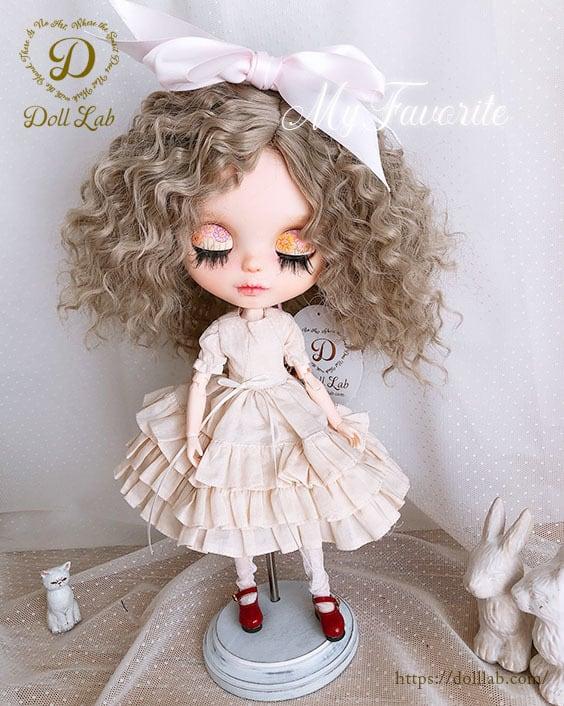 ウェービーシープ [10inch] シルク繊維 天使の巻き毛 DWL011-096-10in