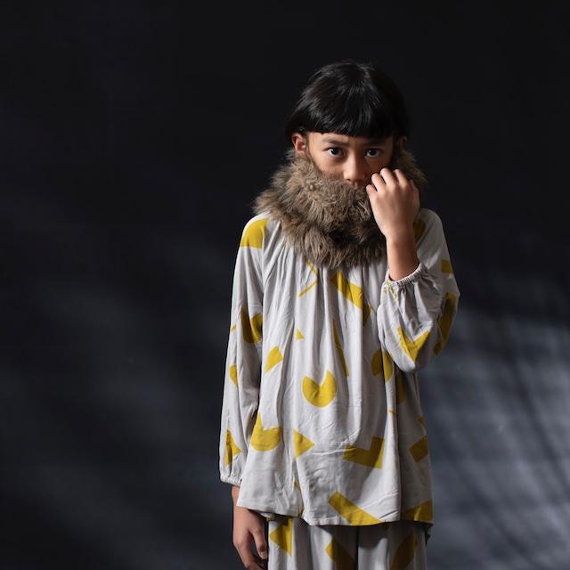 【20AW】arkakama (アルカカマ)unisex smock TIME TRAVEL【S/M/L】スモック