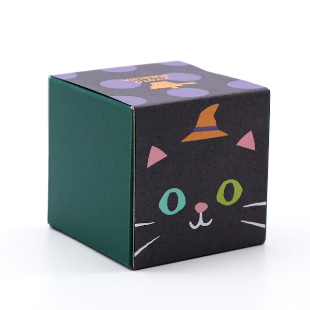 ハロウィン箱茶|黒猫|和紅茶ティーバッグ5包入