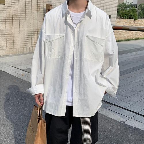 ユニークダブルポケットシャツ BL6474