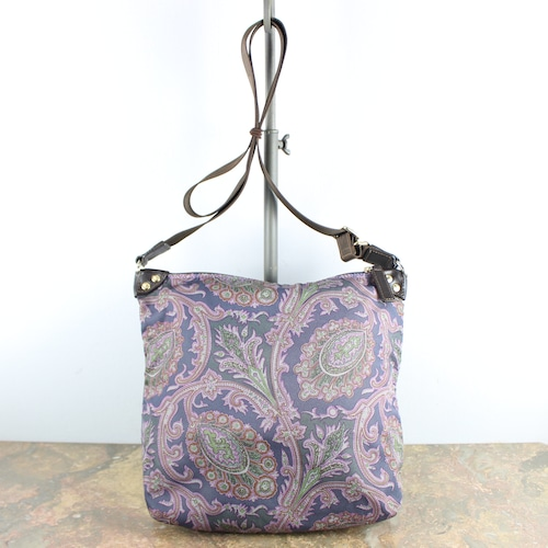 .ETRO ITALYETRO PAISLEY PATTERNED SHOULDER BAG MADE IN ITALY/エトロペイズリー柄ショルダーバッグ2000000051123