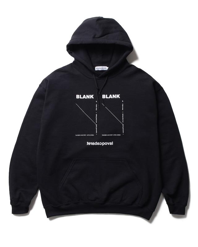 POVAL BLANK HOODED SWEATSHIRT BLACK