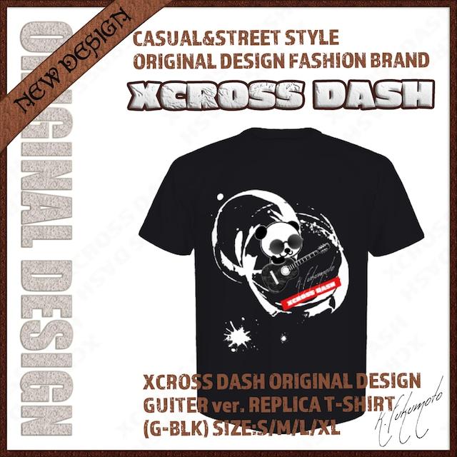 XCROSS DASH 2020 GUITER ver. REPLICA T-SHIRT (G-BLK) レプリカデザインTシャツ