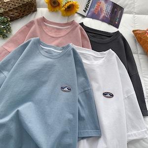 【ユニセックス】マウンテンワンポイントTシャツ M-2XL