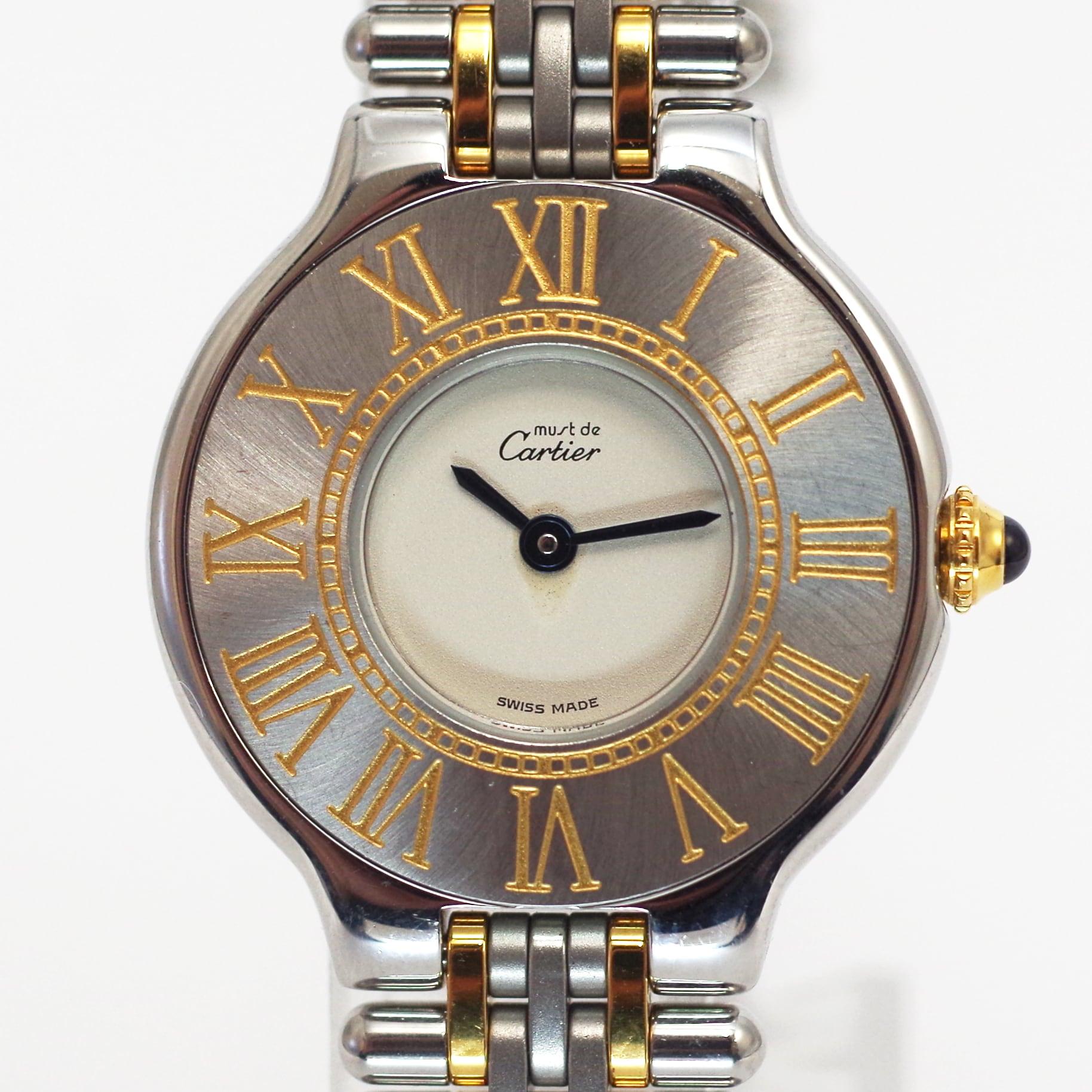 Cartier  カルティエ ヴァンティアン クオーツ ホワイト レディース 腕時計