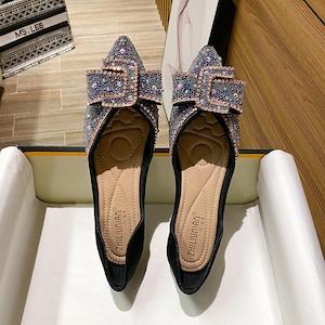 パンプス 2色レディース フラット シューズ ぺたんこ靴 通勤 夏 秋 春 大きいサイズ 小さいサイズ7088