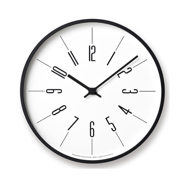 時計台の時計 Arabic 電波時計[KK17-13A]φ305