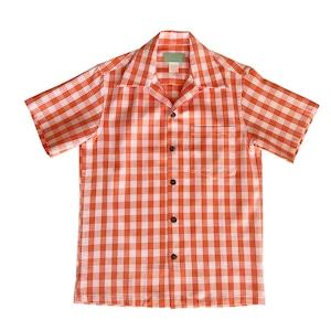 オリジナル パラカシャツ Men's オープン / オレンジ / 残り1枚