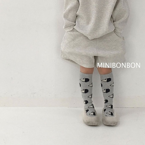 minibonbon ワッフルショートパンツ140~150