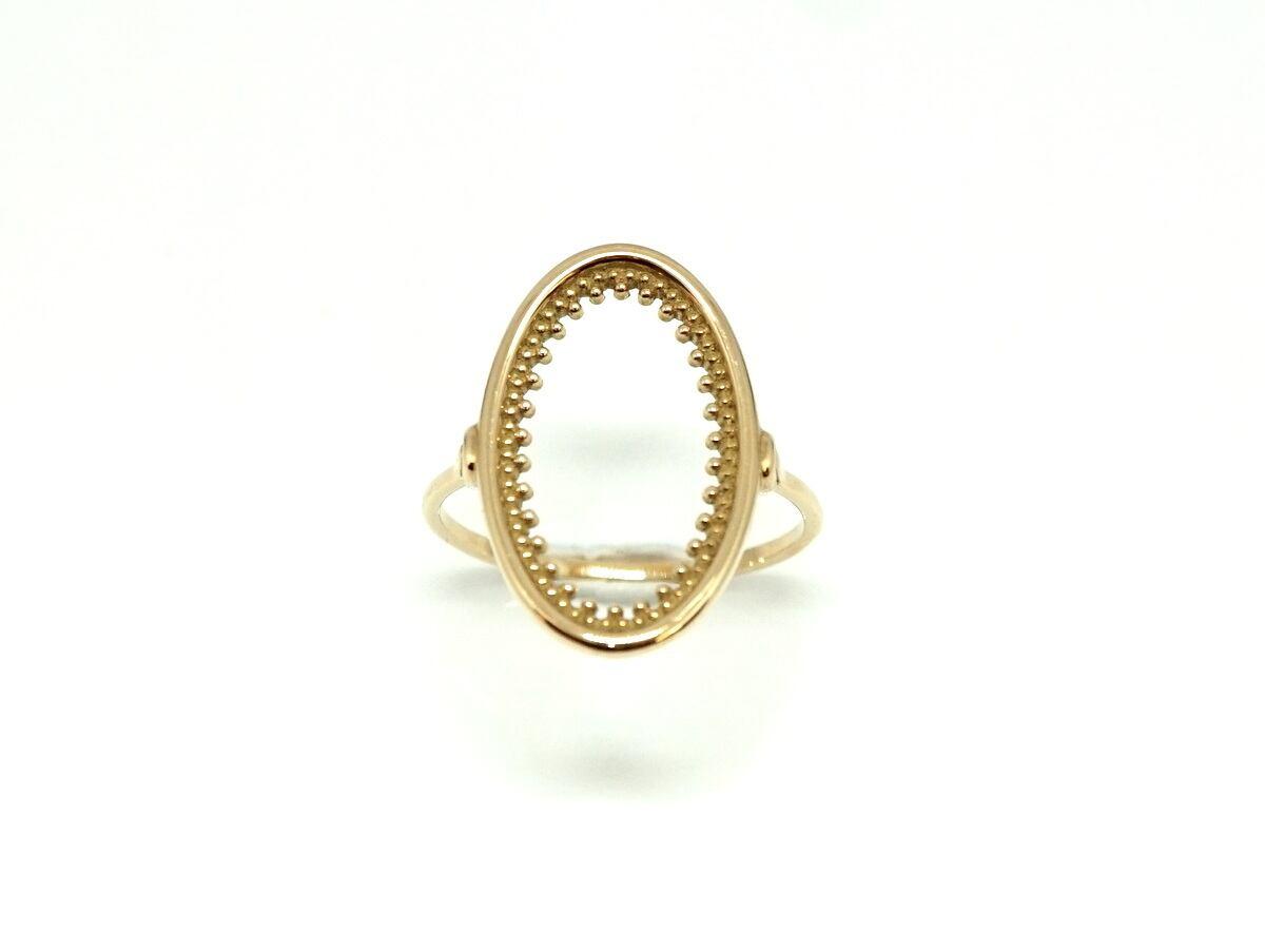 Granulation oval ring