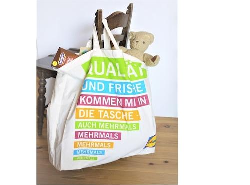 LiDL ドイツ スーパーマーケット  エコバッグ お買い物バッグ ショッパー