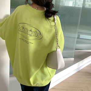 Midnight ロゴスウェットシャツ YH6632