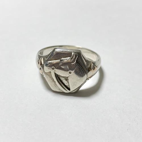 Vintage Horse Sterling Ring