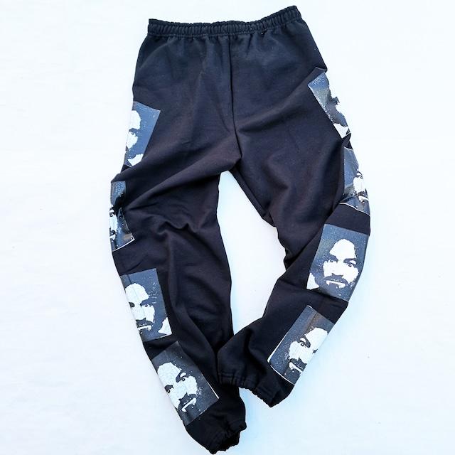 ||||| MANSON SWEAT PANTS BLACK