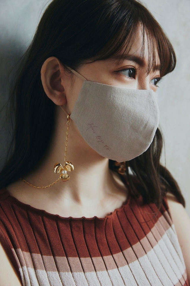Floral Chain Mask