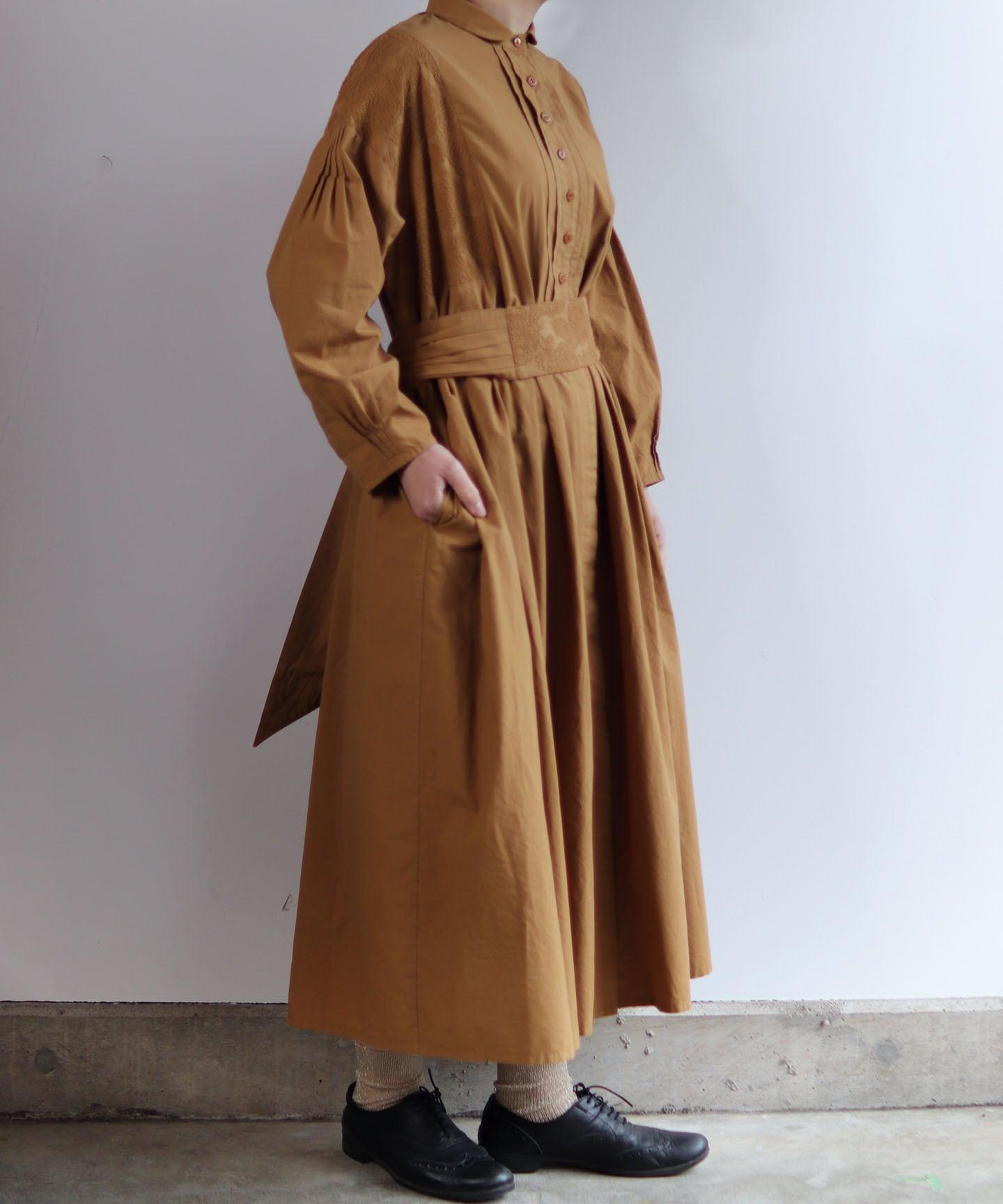 フラワーノット刺繍ドレスコート(muc605)