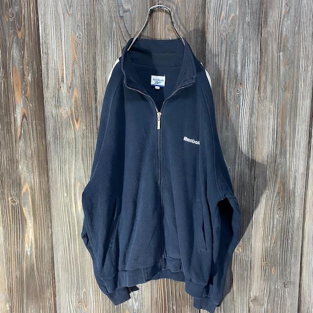 [Reebok]brand logo design  sweat jacket