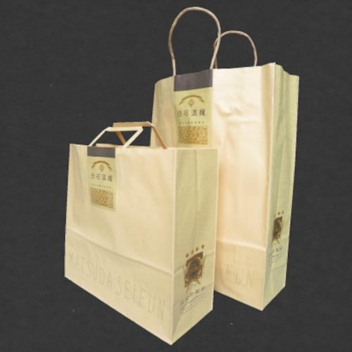 当店オリジナル手さげ袋 (紙製)(追加ご購入分)【小サイズ・4枚入】