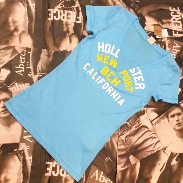 HOLLISTER WOMEN VネックTシャツ Sサイズ