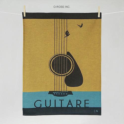 ティータオル ギター