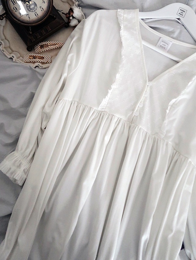 Tulle panel Night dress