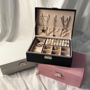 jewelry box 3colors / アクセサリーケース