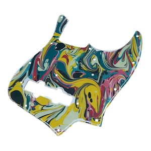 VARIOUS MARBLEIZED PICK GUARD SERIES - 60s J-type  Only One Design - ベース用マーブルピックガード ja2-1