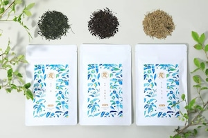 水出し冷茶セット3種