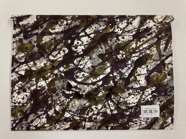 SHIBUKI ART Clutch Bag / MIX.KHAKI
