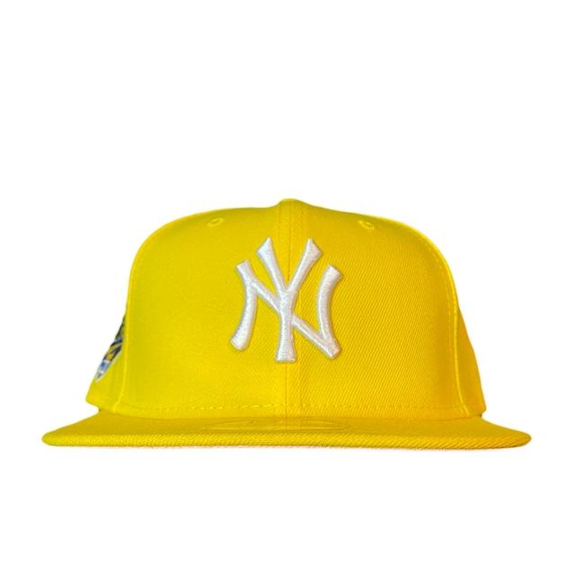 NEW ERA New York Yankees 1996 World Series 59Fifty Fitted / Yellow×White (Pink Brim)