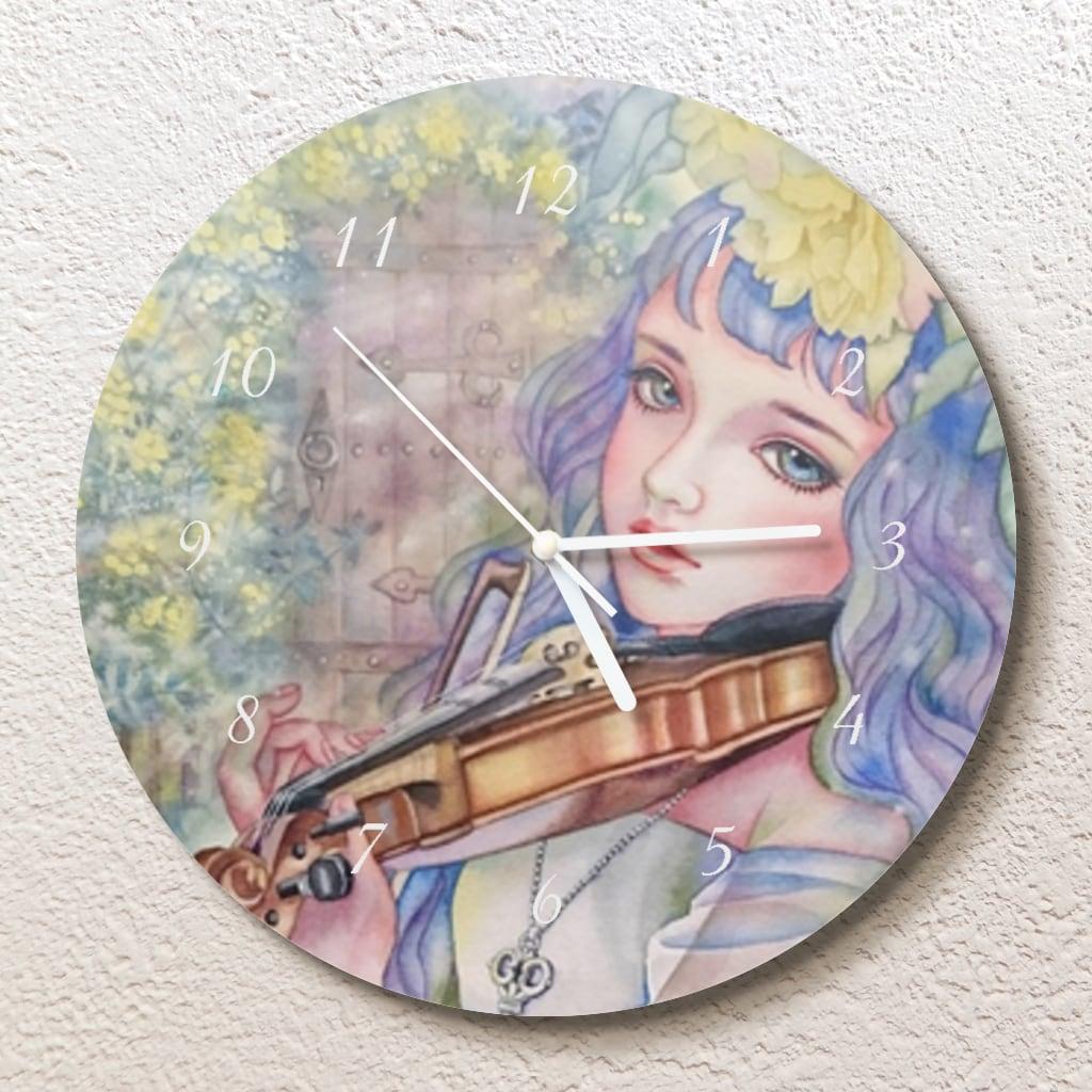 秘密の音色 壁掛け時計(L)