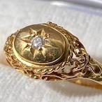 (ヴィクトリアンテイストデザイン✨日本のレトロなヴィンテージリング)Japanese vintage ring