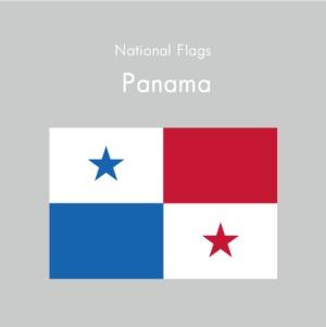 国旗ステッカー パナマ