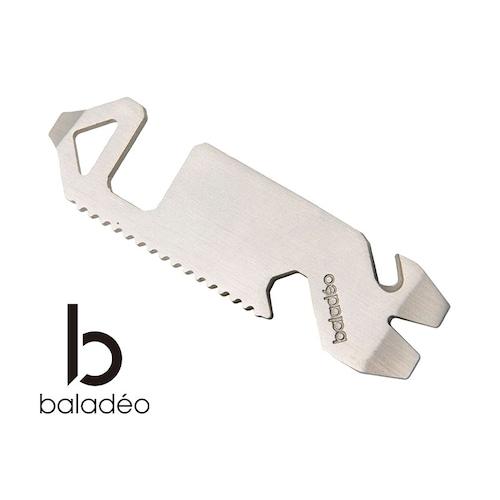 baladeo(バラデオ) Multifunction tool Phone holder bd-0216 アウトドア サバイバル キャンプ グッズ タブレット スマホ ホルダー スタンド