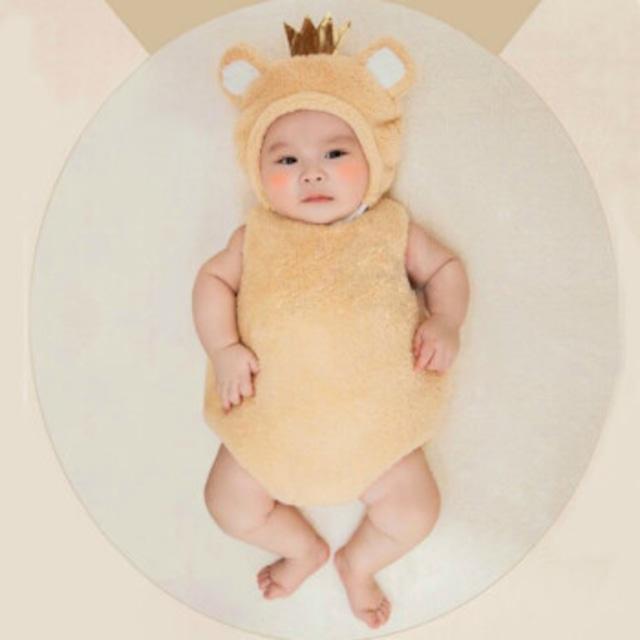 【即納】【ベビーコスプレ】 赤ちゃん 衣装 仮装 コスチューム【クラウン】 S515