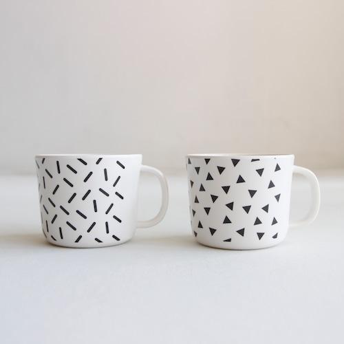 《chocolatesoup》GEOMETRY MELAMINE MUG CUP