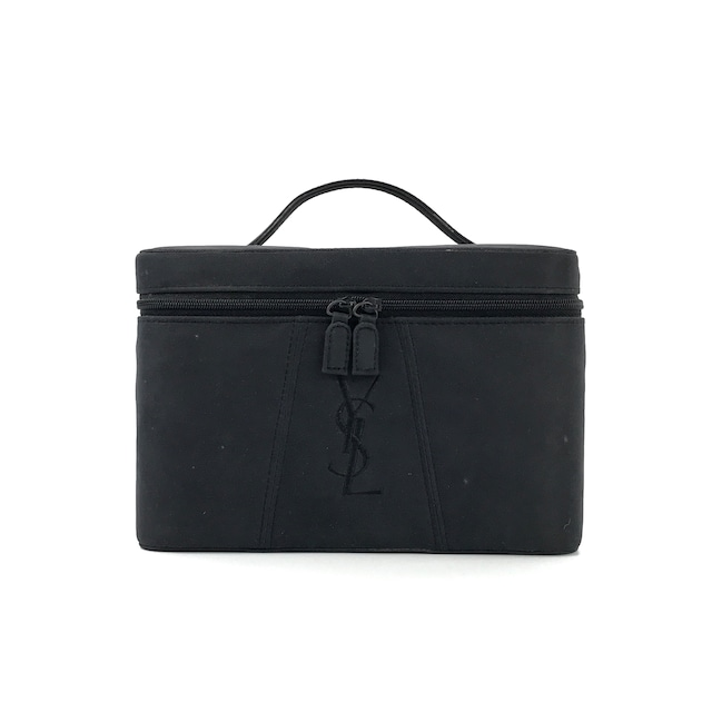 Yves Saint Laurent イヴ サンローラン バニティバッグ YSL刺繍 コスメボックス ハンドバッグ vintage ヴィンテージ オールド YS-Y0928