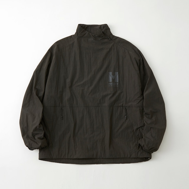 WM × MILLET POLARTEC ALPHA PADDED PULLOVER - CHARCOAL