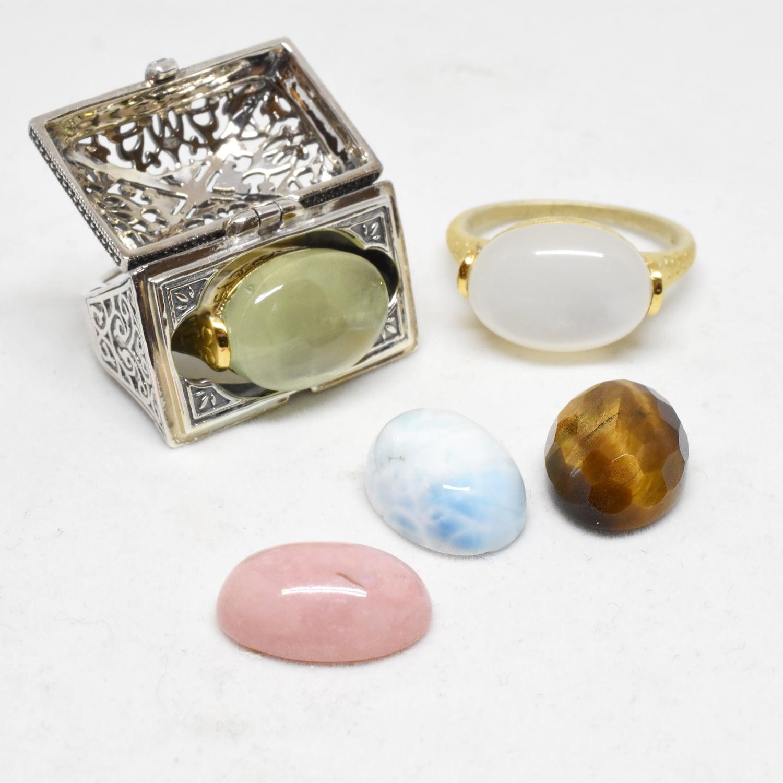 お好きな宝石が選べる。【Packaged collection  Tresure】