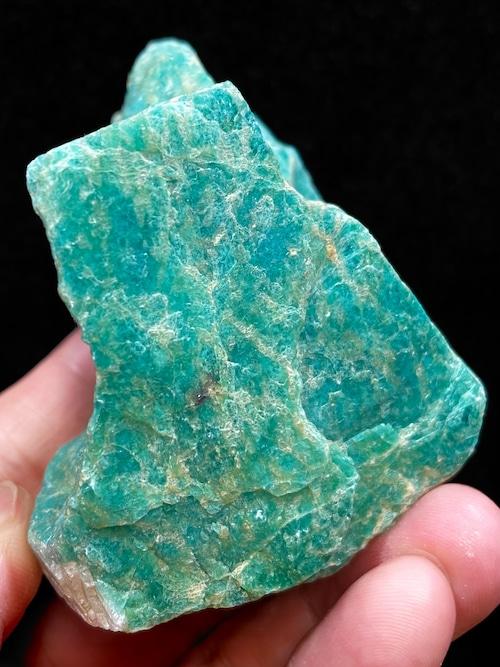 12) ロシアン・アマゾナイト原石