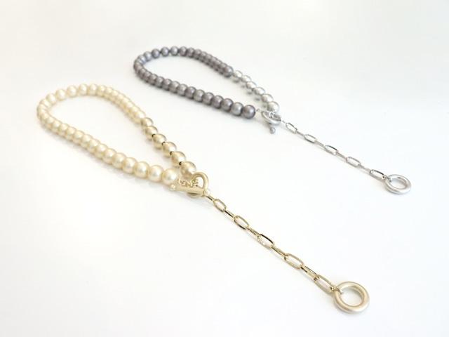 〈LULA MAE〉Marcato Necklace Pearl
