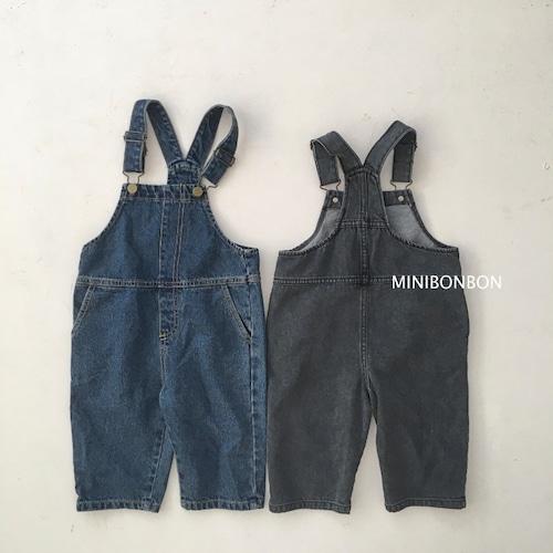 MINIBONBON デニムオーバーオール140~150