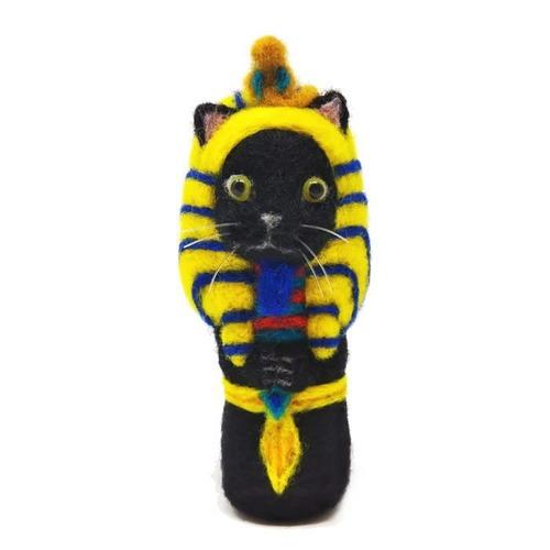ツタンカーメンねこ(黒猫)