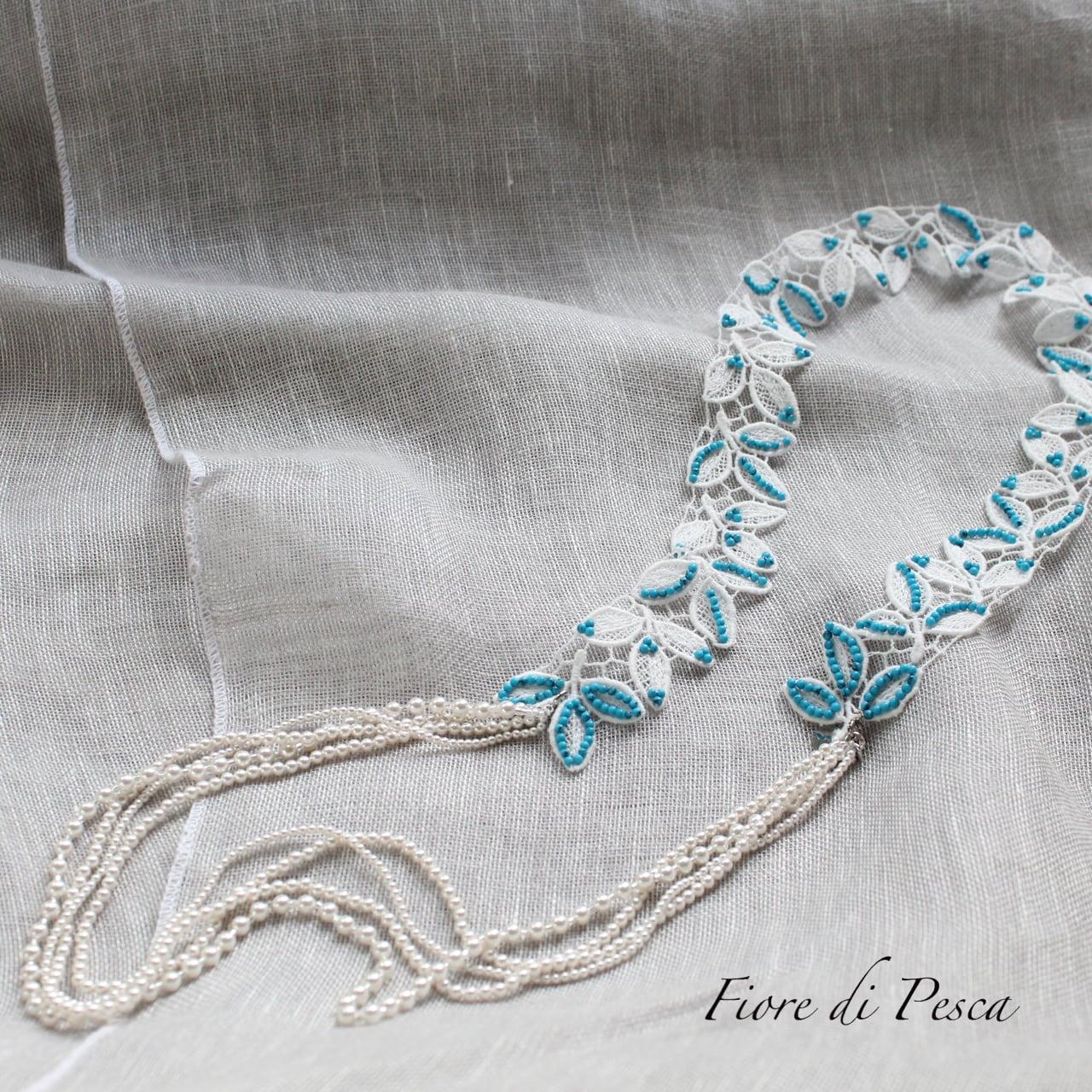 Hepburn Necklace(turqoize)