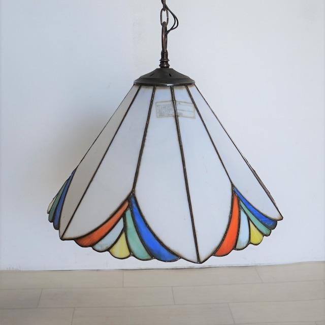 エデン ステンドグラスのランプシェード