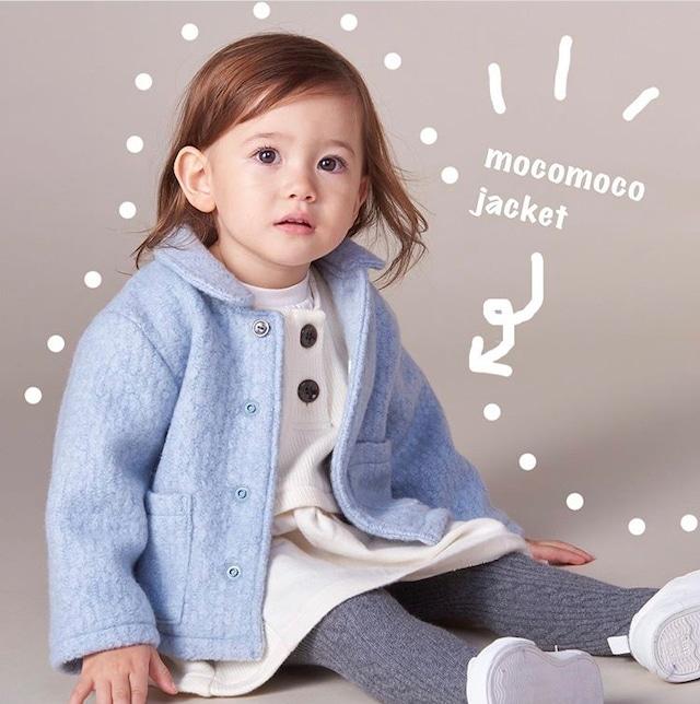 【ベビー服】モコモコジャケット / ウィンタースカイ / 80~100サイズ