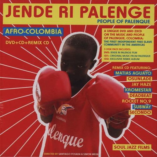"""【ラスト1/CD+DVD】V.A. - Jende Ri Palenge """"People Of Palenque"""""""