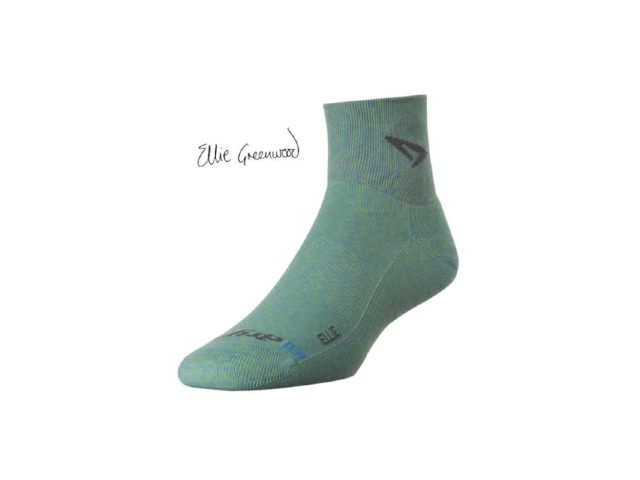 【drymax】 LiteTrailRun 1/4 Crew Socks(Periwinkle)