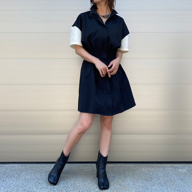 【WOMENS - 1 size】WINDSHIELD ONEPIECE / BLACK