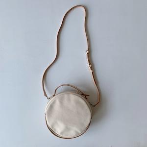 【_Fot】canvas bag circle_shoulder /0401bs_c
